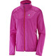 Salomon Agile Running Jacket Women pink